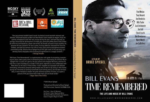 DVD Bill Evans Time Remembered