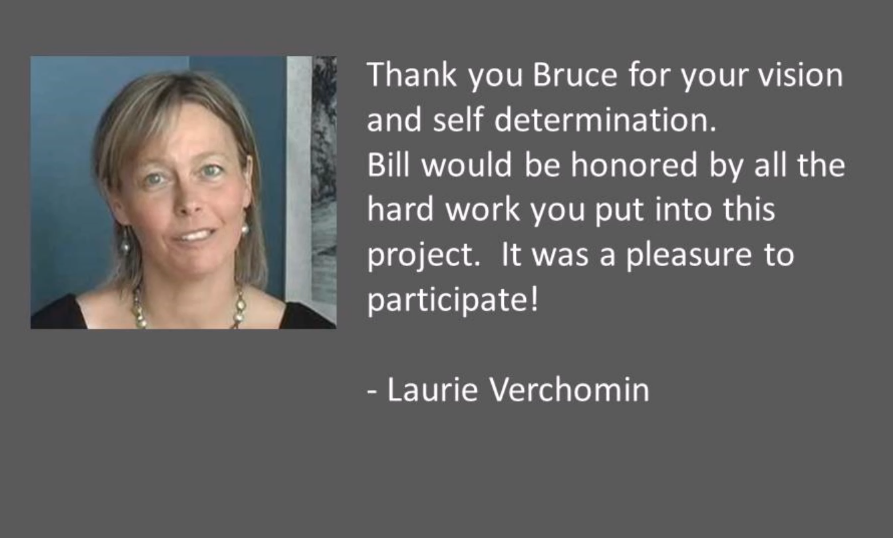 laurie verchomin time remembered