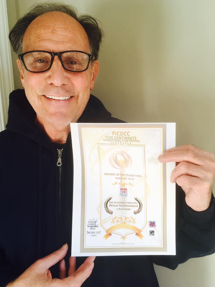 film award bruce spiegel